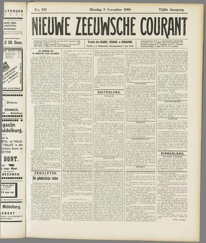Nieuwe Zeeuwsche Courant 1909-11-09