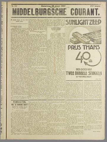 Middelburgsche Courant 1927-06-25