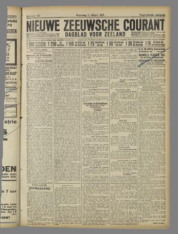 Nieuwe Zeeuwsche Courant 1923-03-12