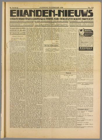 Eilanden-nieuws. Christelijk streekblad op gereformeerde grondslag 1936-02-15