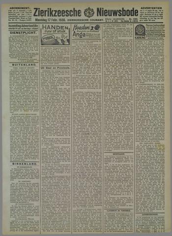 Zierikzeesche Nieuwsbode 1930-02-17