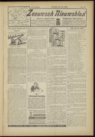 Zeeuwsch Nieuwsblad/Wegeling's Nieuwsblad 1935-07-26
