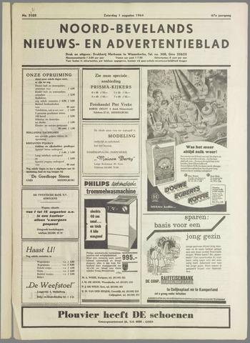 Noord-Bevelands Nieuws- en advertentieblad 1964-08-01