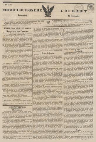 Middelburgsche Courant 1843-09-14