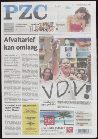 Provinciale Zeeuwse Courant 2014-06-23