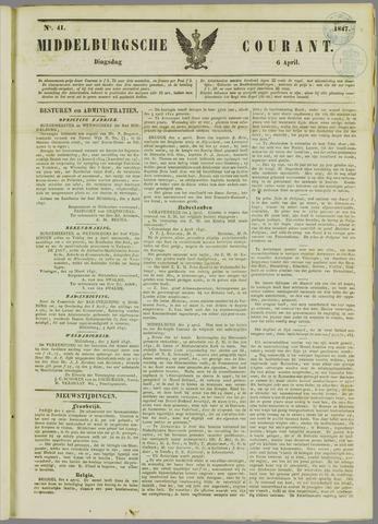 Middelburgsche Courant 1847-04-06