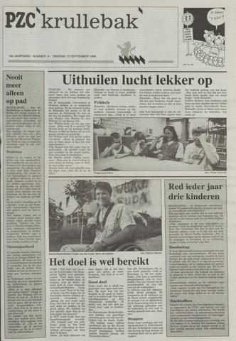 Provinciale Zeeuwse Courant katern Krullenbak (1981-1999) 1996-09-10