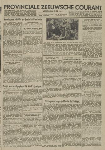 Provinciale Zeeuwse Courant 1943-07-30