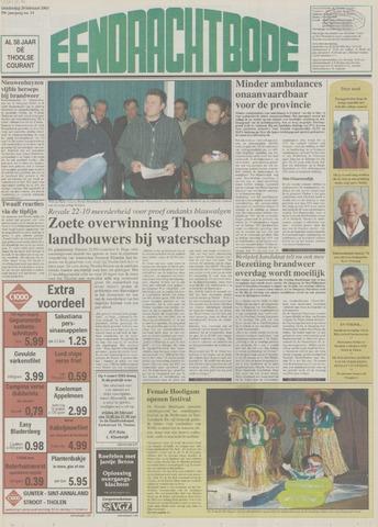 Eendrachtbode (1945-heden)/Mededeelingenblad voor het eiland Tholen (1944/45) 2003-02-20