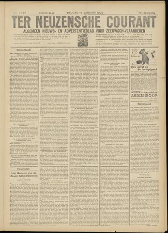 Ter Neuzensche Courant. Algemeen Nieuws- en Advertentieblad voor Zeeuwsch-Vlaanderen / Neuzensche Courant ... (idem) / (Algemeen) nieuws en advertentieblad voor Zeeuwsch-Vlaanderen 1937-01-15
