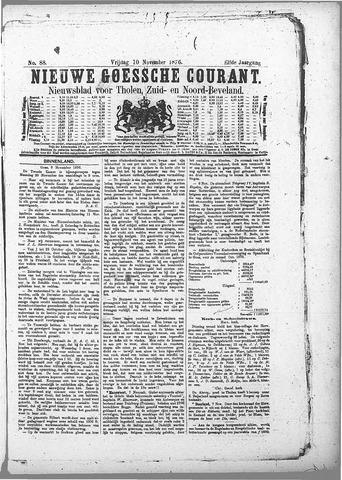 Nieuwe Goessche Courant 1876-11-10