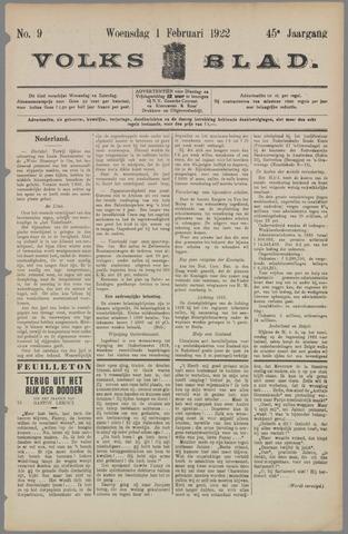 Volksblad 1922-02-01