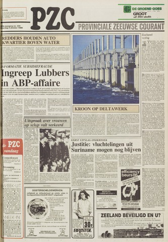 Provinciale Zeeuwse Courant 1986-10-04
