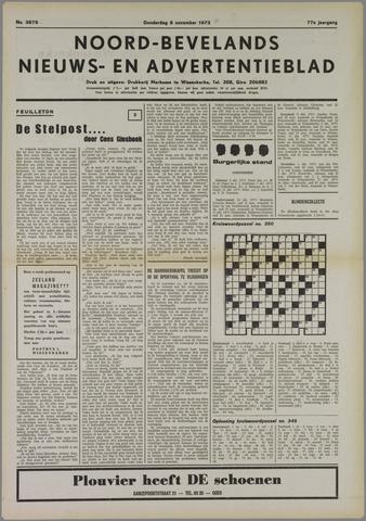 Noord-Bevelands Nieuws- en advertentieblad 1973-11-08