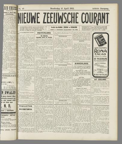 Nieuwe Zeeuwsche Courant 1912-04-11