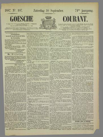 Goessche Courant 1887-09-10