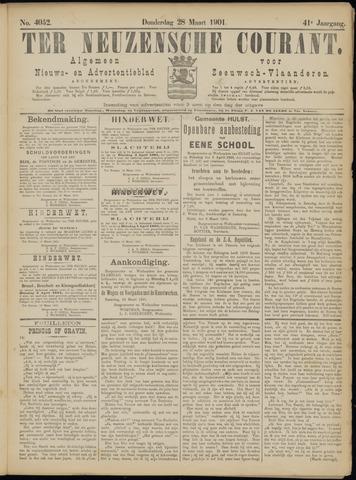 Ter Neuzensche Courant. Algemeen Nieuws- en Advertentieblad voor Zeeuwsch-Vlaanderen / Neuzensche Courant ... (idem) / (Algemeen) nieuws en advertentieblad voor Zeeuwsch-Vlaanderen 1901-03-28