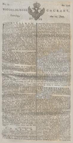 Middelburgsche Courant 1776-06-22