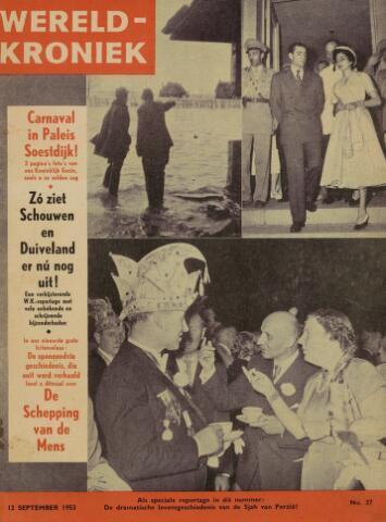 Watersnood documentatie 1953 - tijdschriften 1953-09-12