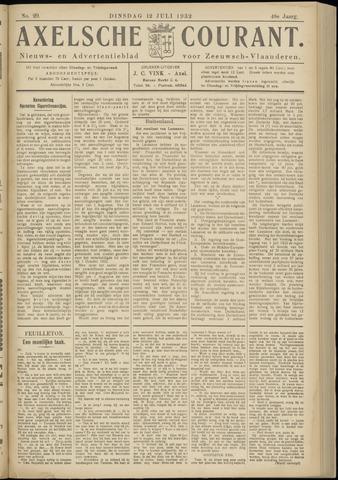 Axelsche Courant 1932-07-12