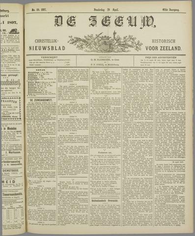 De Zeeuw. Christelijk-historisch nieuwsblad voor Zeeland 1897-04-29