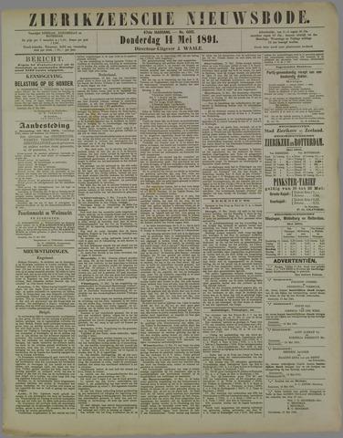Zierikzeesche Nieuwsbode 1891-05-14
