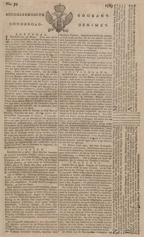 Middelburgsche Courant 1785-05-05