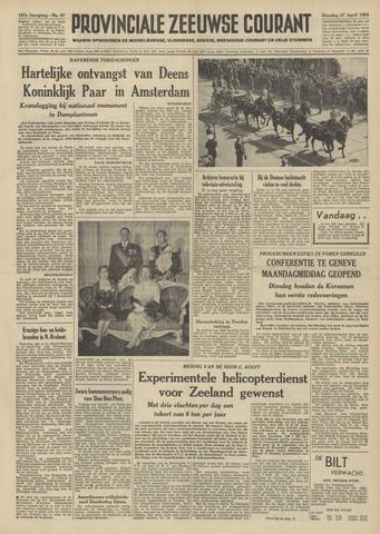 Provinciale Zeeuwse Courant 1954-04-27