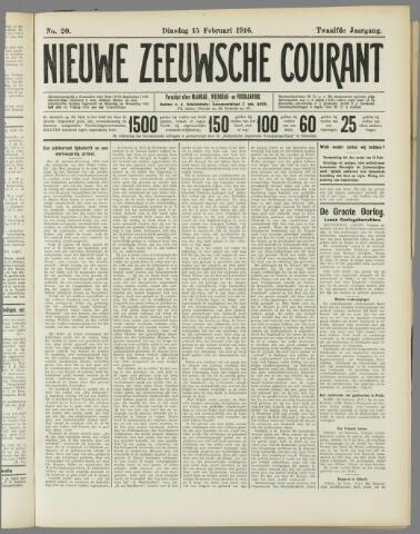 Nieuwe Zeeuwsche Courant 1916-02-15