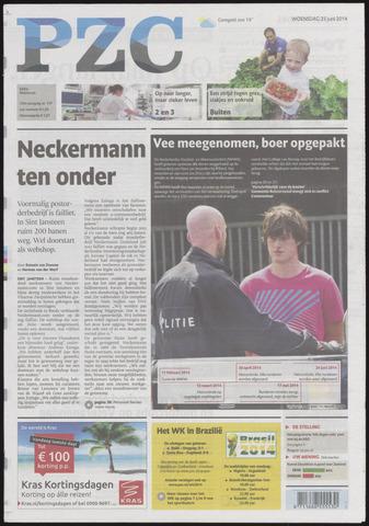 Provinciale Zeeuwse Courant 2014-06-25