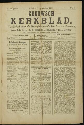 Zeeuwsche kerkbode, weekblad gewijd aan de belangen der gereformeerde kerken/ Zeeuwsch kerkblad 1903-08-21