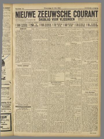 Nieuwe Zeeuwsche Courant 1922-05-24
