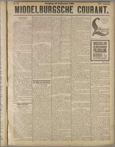 Middelburgsche Courant 1921-02-18