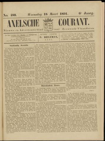 Axelsche Courant 1891-03-18
