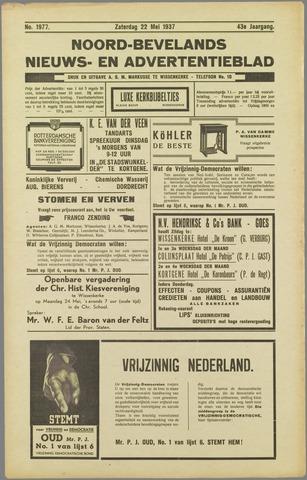 Noord-Bevelands Nieuws- en advertentieblad 1937-05-22