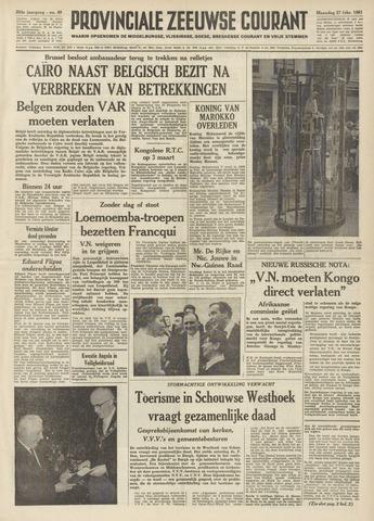 Provinciale Zeeuwse Courant 1961-02-27