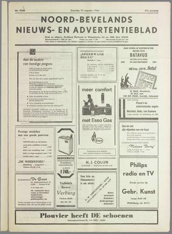 Noord-Bevelands Nieuws- en advertentieblad 1964-08-22