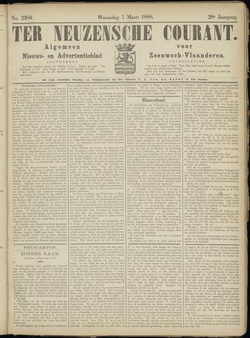 Ter Neuzensche Courant. Algemeen Nieuws- en Advertentieblad voor Zeeuwsch-Vlaanderen / Neuzensche Courant ... (idem) / (Algemeen) nieuws en advertentieblad voor Zeeuwsch-Vlaanderen 1888-03-07
