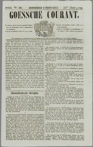 Goessche Courant 1865-02-02