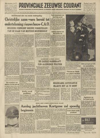Provinciale Zeeuwse Courant 1960-03-08