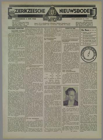 Zierikzeesche Nieuwsbode 1940-06-06