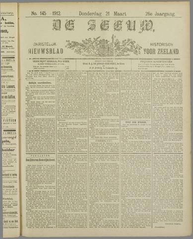 De Zeeuw. Christelijk-historisch nieuwsblad voor Zeeland 1912-03-21