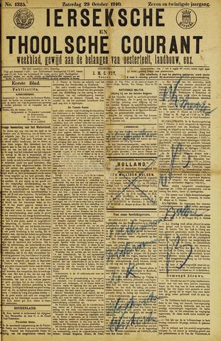 Ierseksche en Thoolsche Courant 1910-10-29