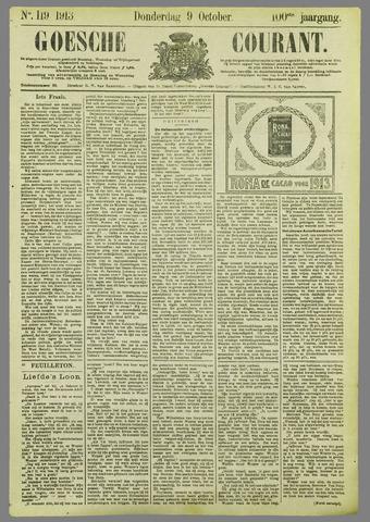 Goessche Courant 1913-10-09