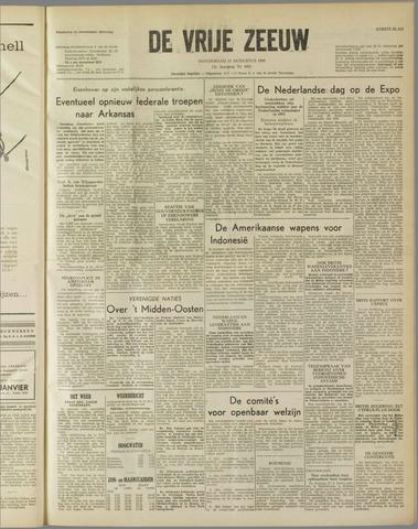 de Vrije Zeeuw 1958-08-21