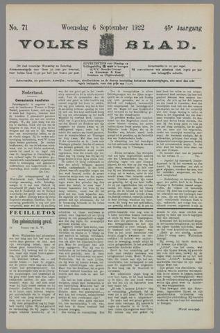 Volksblad 1922-09-06