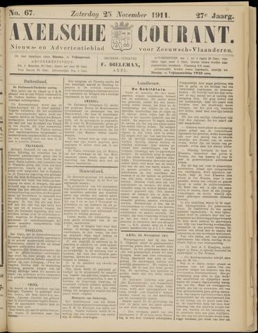 Axelsche Courant 1911-11-25