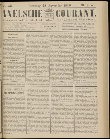 Axelsche Courant 1910-09-28