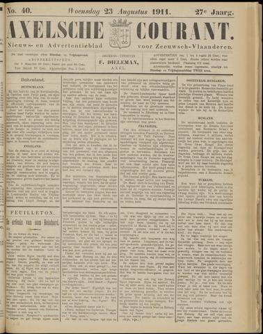 Axelsche Courant 1911-08-23