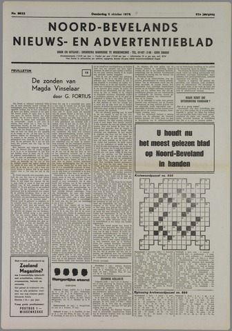 Noord-Bevelands Nieuws- en advertentieblad 1978-10-05